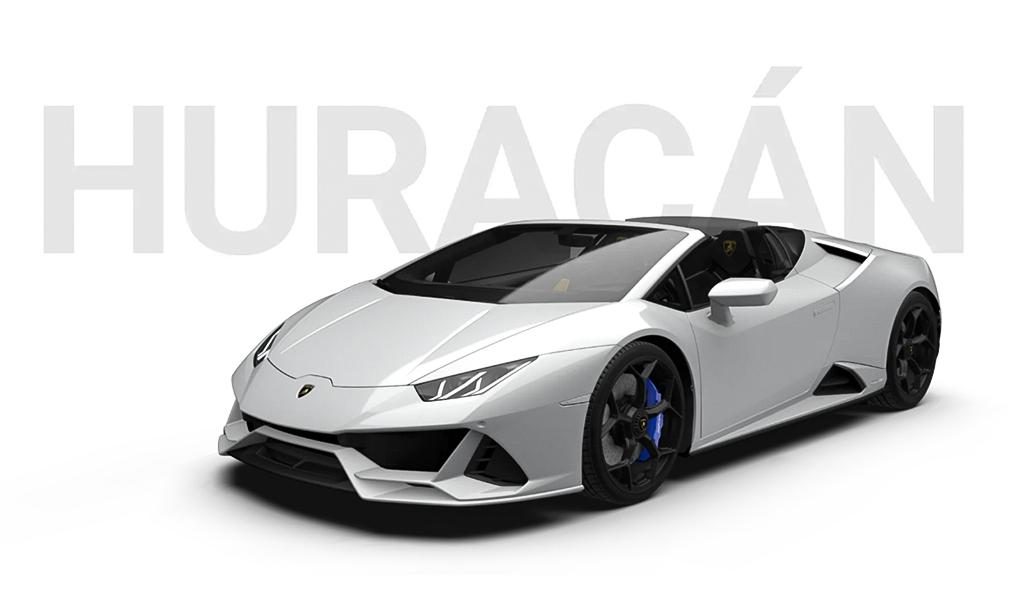 Lamborghini Huracán Evo Spyder a noleggio